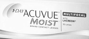 Acuvue 1 day Moist Multifocal logo image