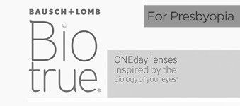 Biotrue ONEday for Presbyopia logo image